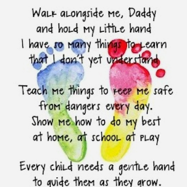 father's day child poem
