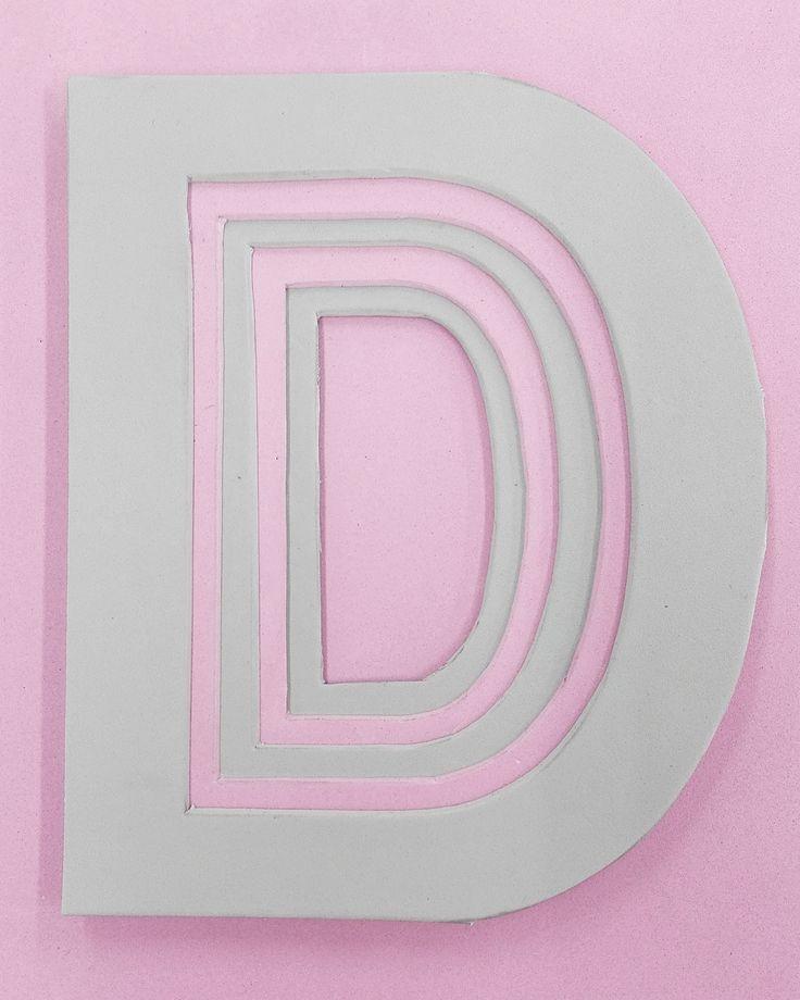 Tripofrafía tridimensional #typography