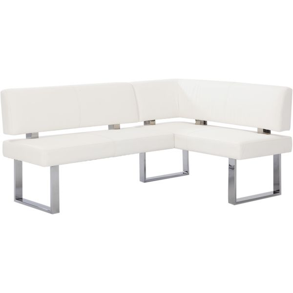 Attractive Christopher Knight Home Leah White Nook Corner Bench
