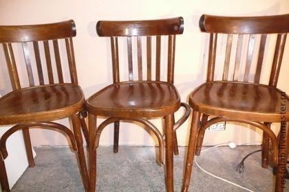 Отреставрированные стулья 60-х годов