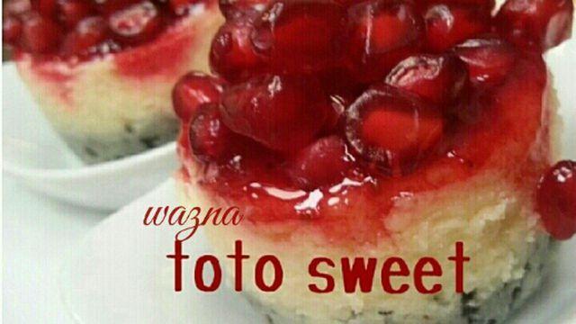 تشيز كيك رمان بالصور Food Desserts Sweet