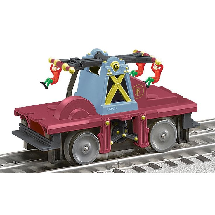 Polar Express O Gauge Elf Car by Lionel Trains, Multicolor