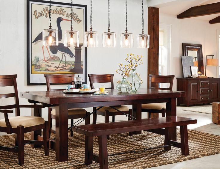 The Vineyard Extension Dining Table Is Perfect For Everyday Family Or Large Groups Of Guests