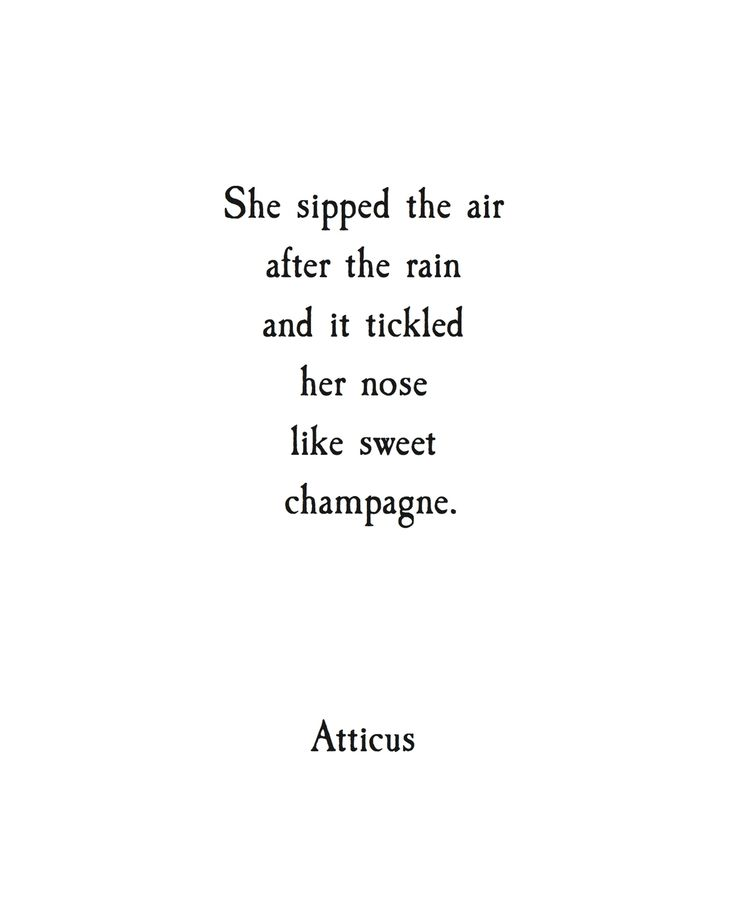 'Sweet Champagne' #atticuspoetry #love