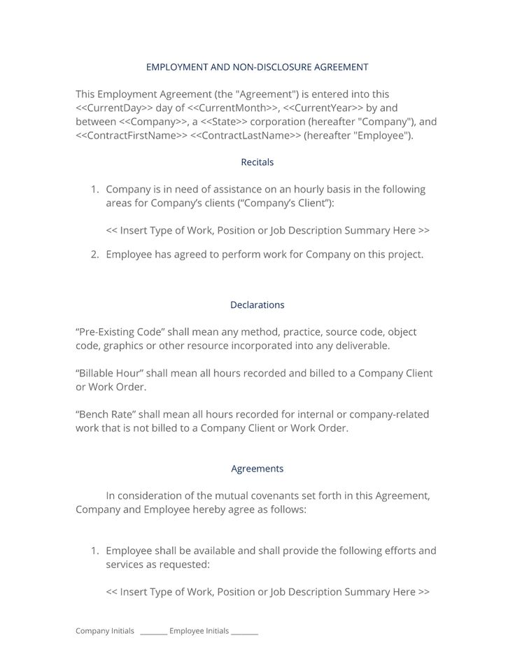 59 best Human Resources Letters, Forms and Policies images on - vendor contract template