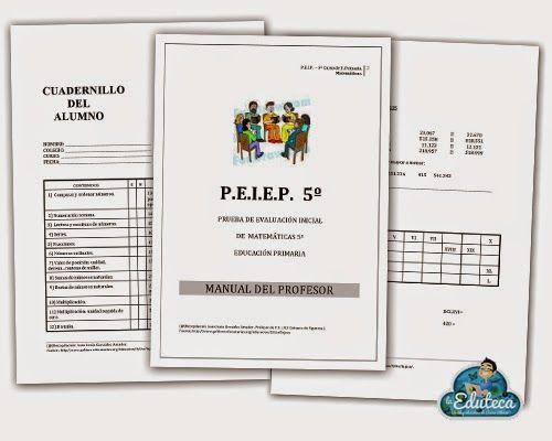 RECURSOS PRIMARIA | Prueba de evaluación inicial para 5º de Primaria ~ La Eduteca