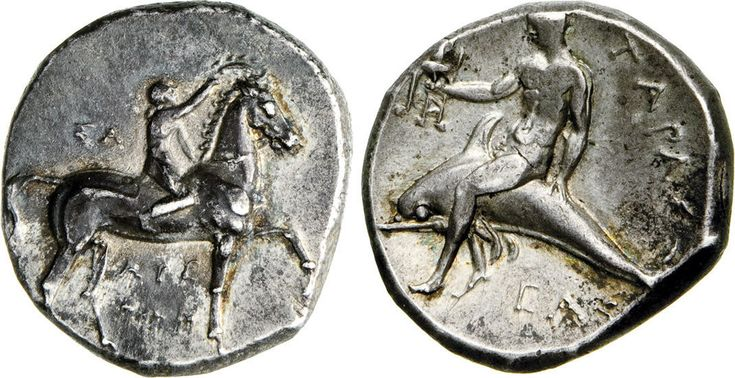 NumisBids: Numismatica Varesi s.a.s. Auction 65, Lot 3 : CALABRIA - TARENTUM - (281-228 a.C.) Statere. D/ Efebo a cavallo...