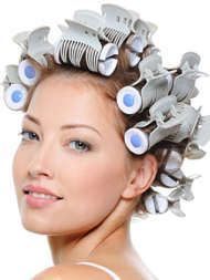 There's another way to get luscious curls that doesn't involve nearly as much damaging heat as with hot styling tools.  That would be hot rollers. Some swear by them. Know why? You will after reading the 9 tricks  detailing how to use these steamy ribbed rollers to give your locks a healthy lift.