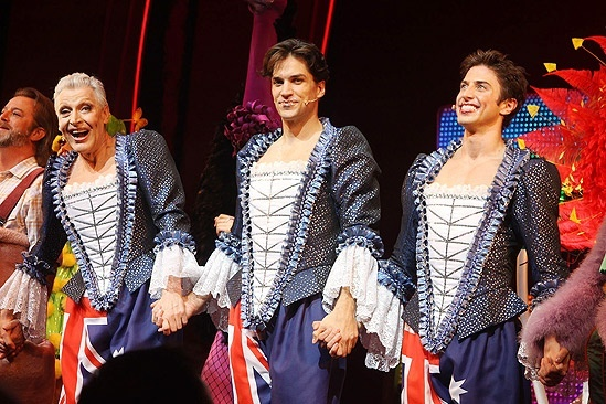 Priscilla. I love this broadway show! not to mention, the 3rd guy looks lile zach braff in this pic ❤