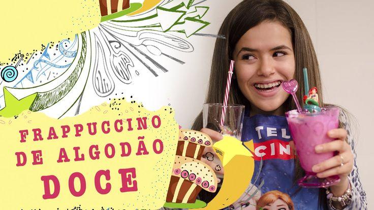 #Maisera - Receita Frappuccino de Algodão Doce - Cotton Candy Frap!
