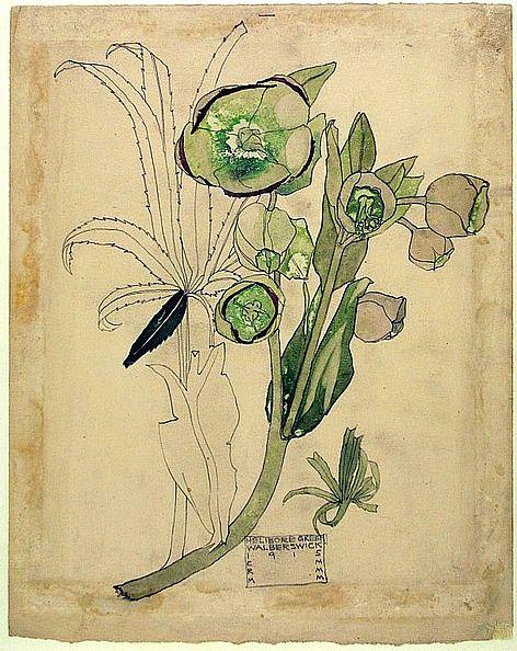 laflneuse8,  margaret macdonald 1915, via artistjournals