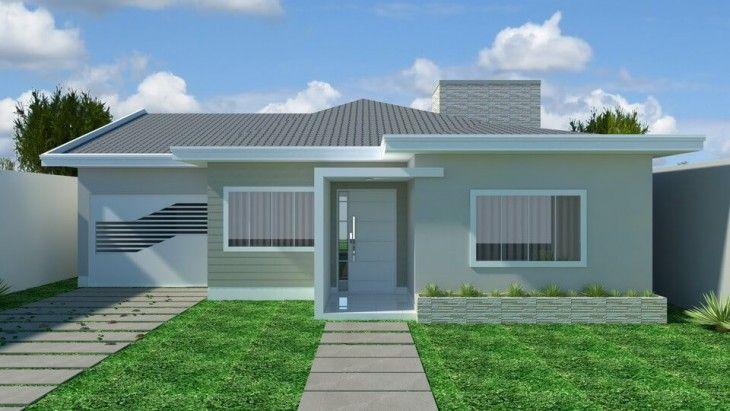 Projeto c008 em 2019 casas casas tipo americano casas - Casas tipo americano ...