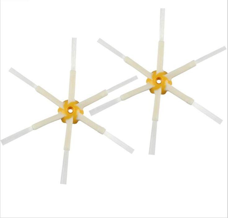 2 unidades nuevo cepillo lateral 6-armado para irobot roomba 500 600 700 Robot Roomba Serie 550 560 630 650 760 Envío Gratis