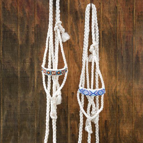Cowboy Braided Rope Halter