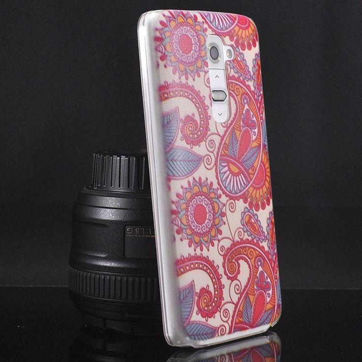 Mobilce | LG G2 S.ARKA CAM PEMBE SRMSK Mobilce | Cep Telefonu Kılıfı ve Aksesuarları