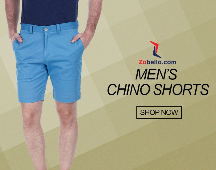 Buy chinos shorts for Men Online in India from the wide range of ...