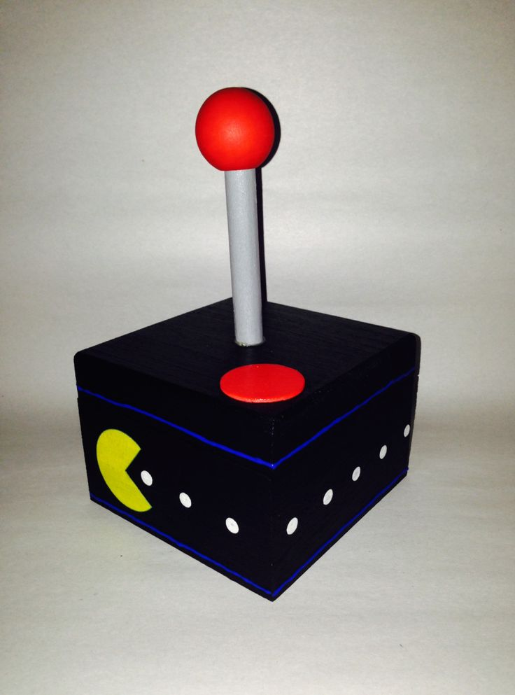 This Awesome Pac Man Inspired Box With Joystick Inspired