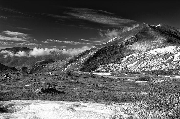 Monti del Matese, Molise, Italia - cloud's caress