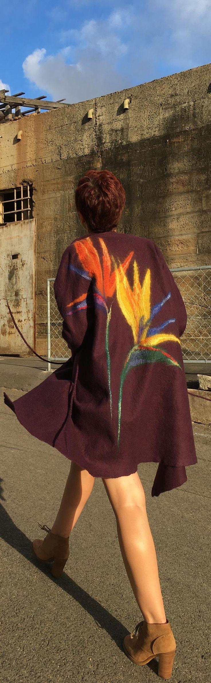 Fashion style cozy summer coat by Vera Alexanderova. #cozy #fashion #style #sustainablefashion #ecofashion #textiledesign #art #wearables
