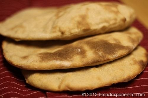 Sourdough Pita from Bread Experience