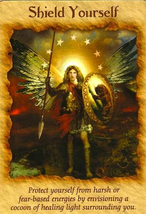 Message from Archangel Michael: Shield Your Energy