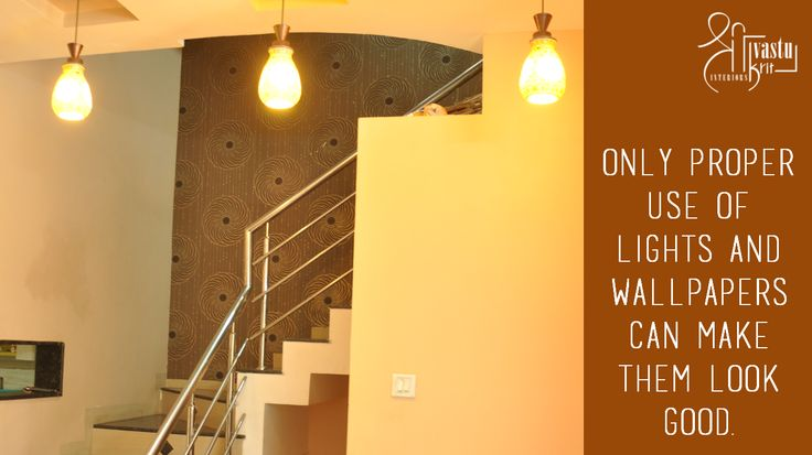 Only proper use of Lights and Wallpapers can make them look good. Share if you agree!! #InteriorDesigner #ShriVastuKrit #Indore