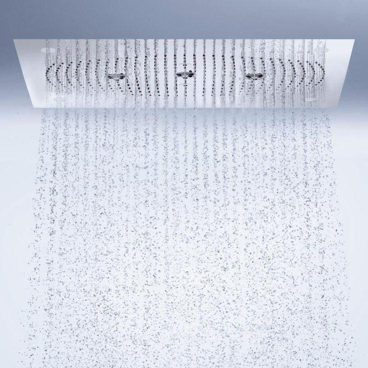 Hansgrohe Raindance Rainmaker 680 x 460 mm Air 3jet Kopfbrause mit LED-Beleuchtung