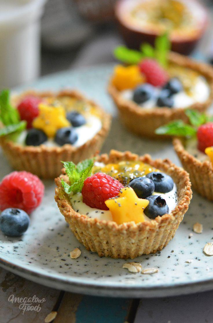 Tartelettes granola du petit déjeuner – IG bas, version vegan – Megalow Food