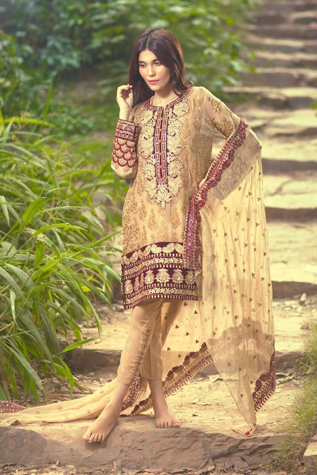 Mina Hasan Winter New year Dresses 2016 By Shariq Textile (4)