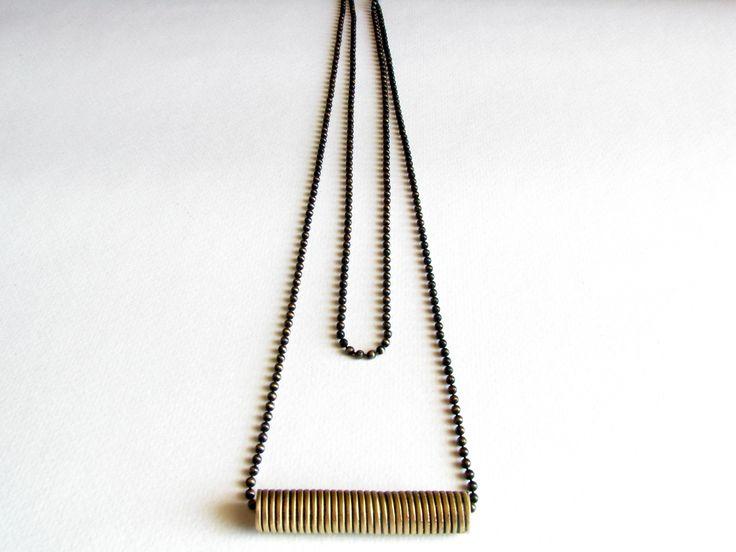 Brass Wire Necklace