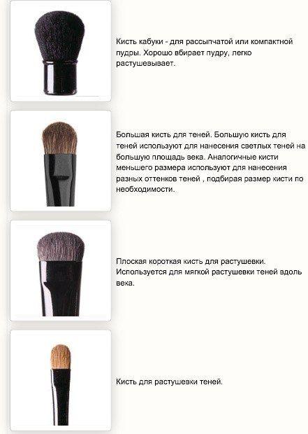 Кисти для макияжа — какая для чего, фото 3