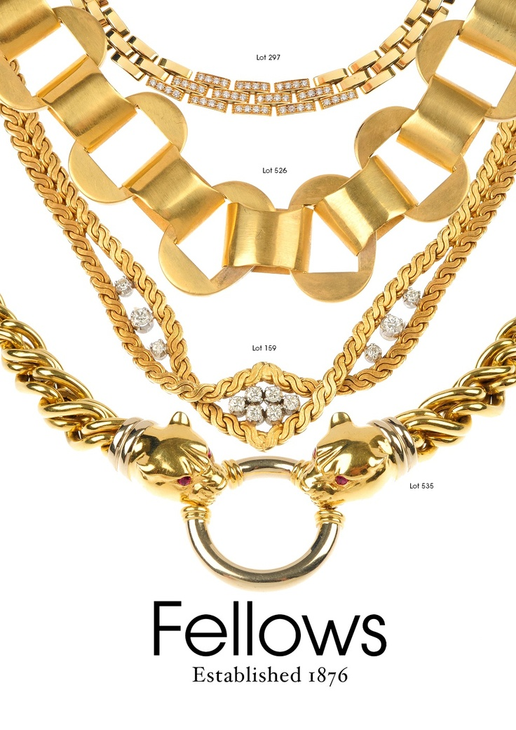 Make a statement - chunky gold necklaces