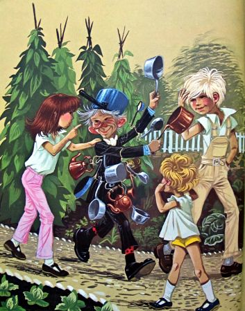 Old Saucepan man from the enchanted wood by Enid Blyton