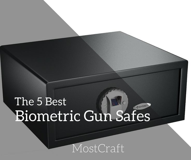 check out the best biometric gun safes