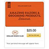 Spend $50, Get $10 Off on Dollar Shave Club Email Gift Cards (Code SHAVE10) https://www.amazon.com/Dollar-Shave-Club-Gift-Cards/dp/B01M5IP44F/ref=xs_gb_rss_A27V10A8CMT9O3/?ccmID=380205&tag=atoz123-20