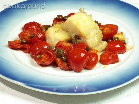 Baccalà con pomodori e capperi: Ricette di Cookaround | Cookaround
