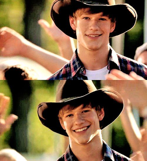 shirtless cowboy | lucas till # hannah montana movie