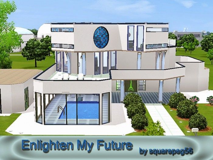 Enlighten My Future House By Squarepeg56   Sims 3 Downloads CC Caboodle