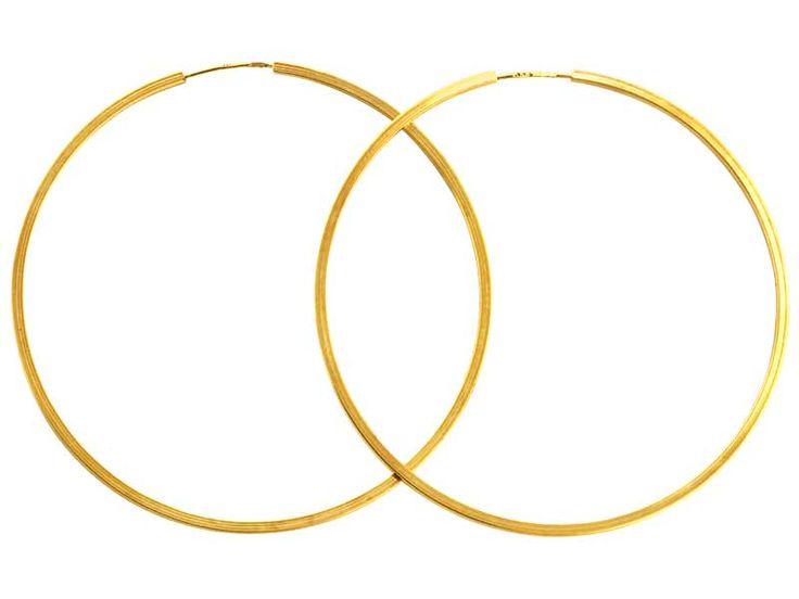Złote kolczyki - wzór AP23-0801 / Apart