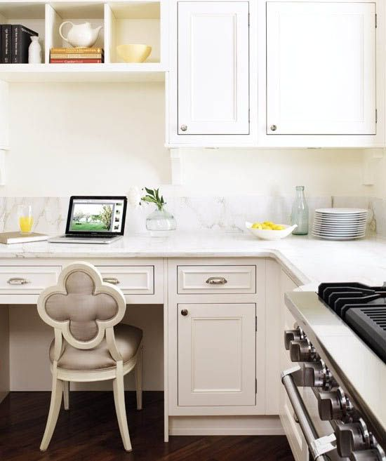 Desk In Kitchen: Kitchen Desk Ideas