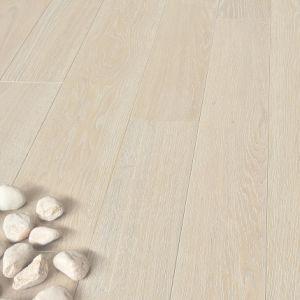 European select oak, bleached oil effect. Parquet in Rovere europeo Sbiancato effetto olio Cadorin.