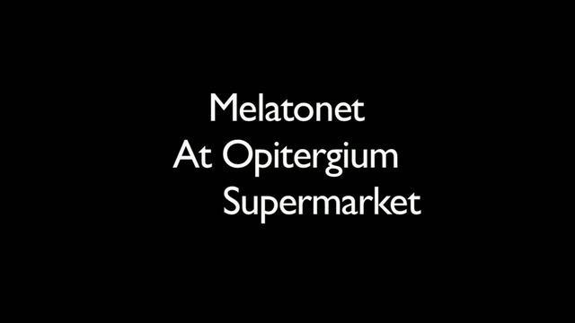 Melatonet at Opitergium Supermarket by luigi tadiotto [Liquid]. Rought Edit from the incoming great gossipshow