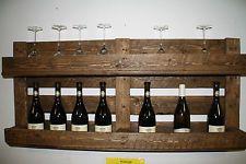 Wein Regal Europaletten von Made in Holz auf DaWanda.com