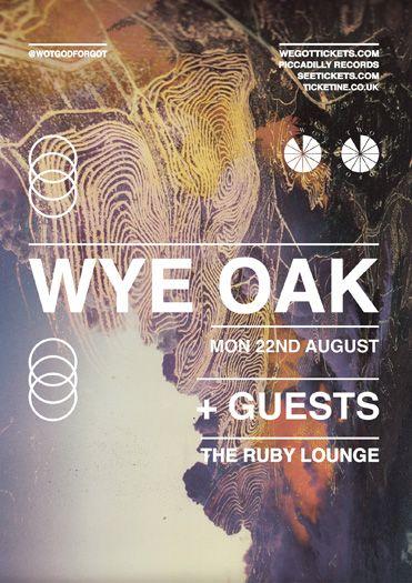 typo wotgodforgot wye oak  poster by dr.me