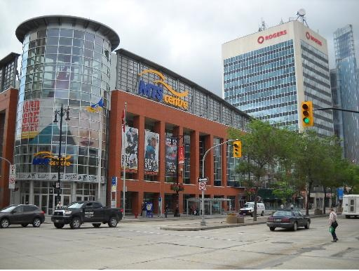 MTS Centre - home of the Winnipeg Jets, NHL.