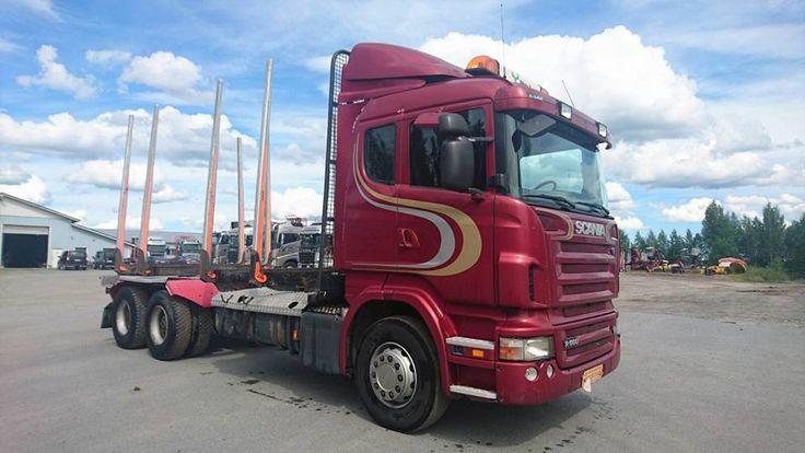Scania R560 2008 y 6x4 manual steel steel big axle for sale +37126643988