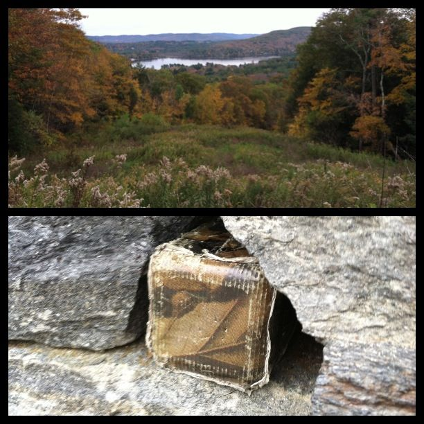 West Stockbridge, MA. - Olivia's Overlook - This overlook was provided for by Tennessee Gas Pipeline Company in 1992 on lands which were given by the Olivia Stokes Hatch family to the Berkshire County Land Trust and Conservation Fund.