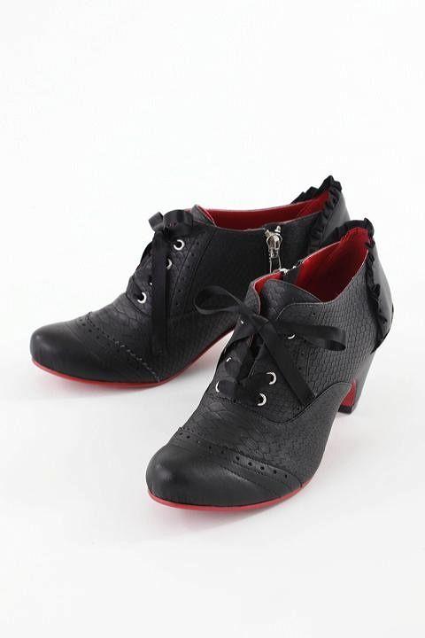 Super Groupies Yu Yu Hakusho inspired 'Hiei' heels. Right to the top of my wish list.   幽☆遊☆白書