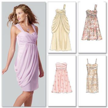 Beautiful strapless dres pattern Google Search