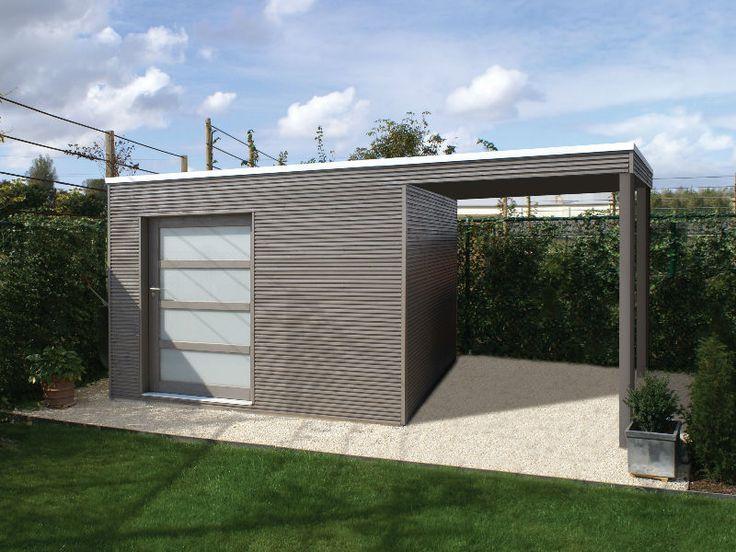 27 best carport tuinhuis images on pinterest sheds garden houses and garden sheds. Black Bedroom Furniture Sets. Home Design Ideas